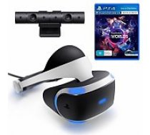 Sony PS4 PlayStation VR + Camera v2 +VR Worlds aksesuārs