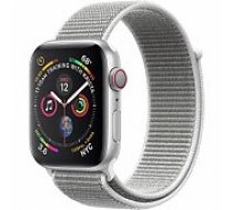Apple Watch Series 4 40mm Silver Case / Seashell Loop viedā aproce