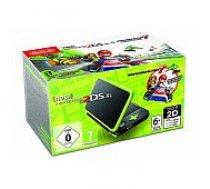 Nintendo New 2DS XL Black/ Lime Green incl. Mario Kart 7 spēļu konsole