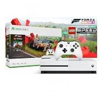 Microsoft Xbox ONE S 1TB White + Forza Horizon 4 and LEGO Speed Champions spēļu konsole