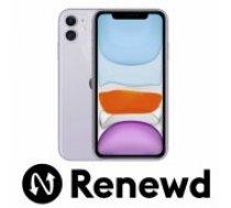 Apple RENEWD iPhone 11 64GB Purple Renewd mobilais telefons