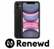 Apple RENEWD iPhone 11 64GB Black Renewd mobilais telefons