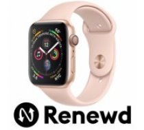 Apple RENEWD Watch Series 4 44mm Gold Case / Pink Band Renewd viedā aproce