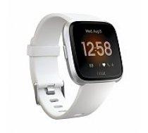 Fitbit Versa Lite White/ Silver Aluminum viedā aproce