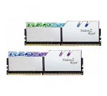 G.skill Trident Z Royal Silver 16GB DDR4 3200MHZ DIMM F4-3200C16D-16GTRS operatīvā atmiņa