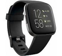Fitbit Versa 2 Black/ Carbon viedā aproce