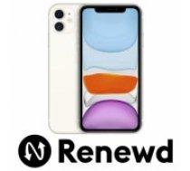 Apple RENEWD iPhone 11 64GB White Renewd mobilais telefons