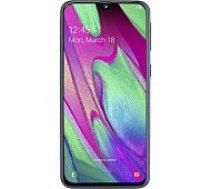 Samsung A405F Galaxy A40 64GB Black mobilais telefons