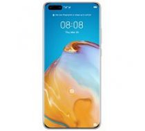 Huawei P40 Pro 5G 256GB Ice White (Without Google Services) mobilais telefons