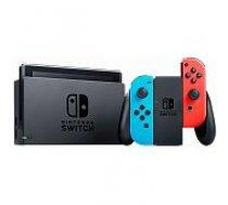 Nintendo Switch Neon Red & Blue Joy-Con (Revised) spēļu konsole