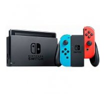Nintendo Switch Neon Red & Blue Joy-Con (2019) spēļu konsole
