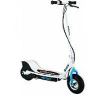 Razor E300 Electric Scooter White/ Blue Elektriskais skrejritenis