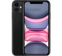 Apple iPhone 11 64GB Black mobilais telefons
