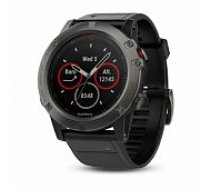 Garmin fenix 5X Sapphire - Slate grey with black band viedā aproce