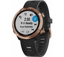 Garmin Forerunner 645 Music Rose Gold/ Black viedā aproce