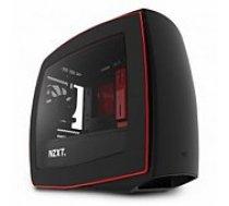 Nzxt MANTA, Mini-ITX case, black/ red datoru korpuss