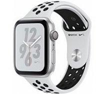 Apple Watch Series 4 Nike+ 44mm Silver Case / Black Nike Band viedā aproce