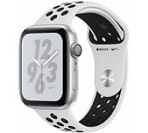 Apple Watch Series 4 Nike+ 44mm Silver Case / Black Nike Band viedā aproce