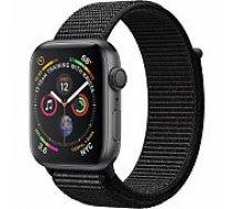 Apple Watch Series 4 40mm Space Grey Case / Black Loop viedā aproce