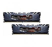 G.skill Flare X Black 2x8GB DDR4 3200MHZ DIMM F4-3200C14D-16GFX operatīvā atmiņa