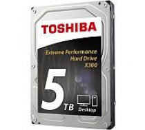 Toshiba 5TB 7200RPM SATAIII 128MB HDWE150EZSTA cietais disks HDD