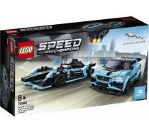 LEGO Speed Champions Formula E Panasonic Jaguar Racing GEN2 car & Jaguar I-PACE eTROPHY 76898L