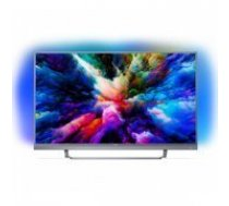 "Viedais TV Philips 49PUS7503 49"" Ultra HD 4K WIFI HDR Sudrabs"