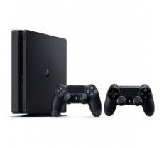 Sony Playstation 4 Slim 1TB (PS4) BLACK + FIFA 19 + 2 Dualshocks