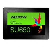 """ADATA SU650SS 120GB SSD, 2.5"""" 7mm, SATA 6Gb/s, Read/Write: 520 / 320MB/s, Random Read/Write IOPS 20K/75K ASU650SS-120GT-R"""