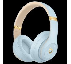 Beats Studio3 Wireless Headphones - The Beats Skyline Collection - Crystal Blue, Model A1914 MTU02ZM/A