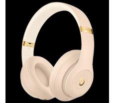 Beats Studio3 Wireless Headphones - The Beats Skyline Collection - Desert Sand, Model A1914 MTQX2ZM/A
