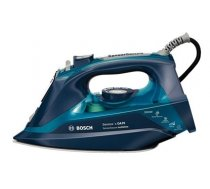 Iron Bosch TDA703021A Blue, 3200 W, With cord, Continuous steam 50 g/min, Steam boost performance 200 g/min, Anti-drip function, Anti-scale system, Vertical steam function, Water tank cap (TDA703021A)