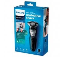 Philips AquaTouch wet and dry electric shaver S5420/06 MultiPrecision Blade System 45 min cordless use/1h charge SmartClick precision trimmer (S5420/06)