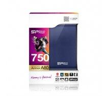 "Silicon Power Armor A80 1TB 2.5 "", USB 3.0, Blue (SP010TBPHDA80S3B)"