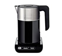 Bosch TWK8613P With electronic control, Stainless steel, Black, 2400 W, 360° rotational base, 1.5 L (TWK8613P)