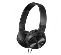 Sony MDR-ZX110NC Noise Canceling Headphones, Black (MDRZX110NAB.CE7)