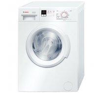 Bosch Washing machine WAB24166SN Front loading, Washing capacity 6 kg, 1200 RPM, A+++, Depth 55 cm, Width 60 cm, White, Display, LED (WAB24166SN)
