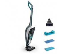 Philips PowerPro Aqua Vacuum cleaner and Mopping System FC6409/01 Warranty 24 month(s), Handstick 3in1, Petrol blue metallic, 0,6 L, 83 dB, Cordless, 60 min, 25.2 V (FC6409/01)