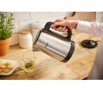 Philips Kettle HD9350/91 Standard, Stainless steel, Stainless steel, 2200 W, 1.7 L, 360° rotational base (HD9350/91)
