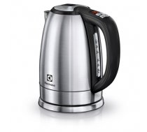 Electrolux Kettle EEWA7700 With electronic control, Stainless steel, Stainless steel, 2400 W, 360° rotational base, 1.7 L (EEWA7700)