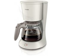 Philips Daily Collection Coffee maker HD7461/00 With glass jug White (HD7461/00)