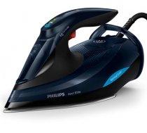 Philips Azur Elite GC5036/20 Black, 3000 W, Steam iron, Continuous steam 70 g/min, Steam boost performance 260 g/min, Auto power off, Anti-drip function, Anti-scale system, Vertical steam  (GC5036/20)