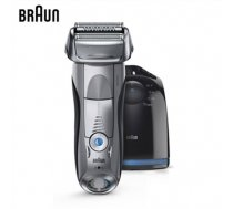 Braun 7899cc  Warranty 24 month(s), Wet use, Rechargeable, Charging time 1  h, Network / battery, Number of shaver heads/blades 3, Silver/ black (7899CC)