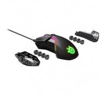SteelSeries Rival 600 Gaming Mouse SteelSeries Gaming mouse, RGB LED light, Dual system: 1st - TrueMove 3 Optical Sensor 100-12000CPI; 2nd - Optical Depth Sensor; (62446)
