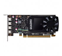 Dell NVIDIA, 4 GB, Quadro P1000, GDDR5, PCI Express 3.0, 4 mDP (490-BDXN)