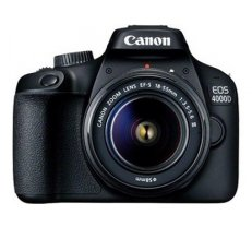 "Canon EOS 4000D 18-55 III EU26 SLR Camera Kit, Megapixel 18 MP, Image stabilizer, ISO 12800, Display diagonal 2.7 "", Wi-Fi, Video recording, APS-C, Black (3011C003)"