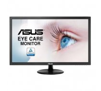 "Asus LCD VP228DE 21.5 "", TN, FHD, 1920 x 1080 pixels, 16:9, 5 ms, 200 cd/m², Black, Eye Care, Flicker Free, Blue Light Filter, Anti Glare (90LM01K0-B04170)"