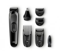 Braun MGK 3020 hair trimmers/clipper Black Rechargeable (MGK 3020)