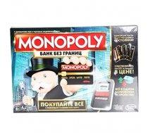 Spēle Monopols ar bankas kartēm RU 8gadi+ (MAN#440571)