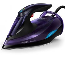 Philips Iron GC5039/30 OptimalTemp 3000W 75g/min 260g IONIC steam mode SteamGlide Advanced soleplate Safety Auto Off quick calc release purple 3m cord (GC5039/30)